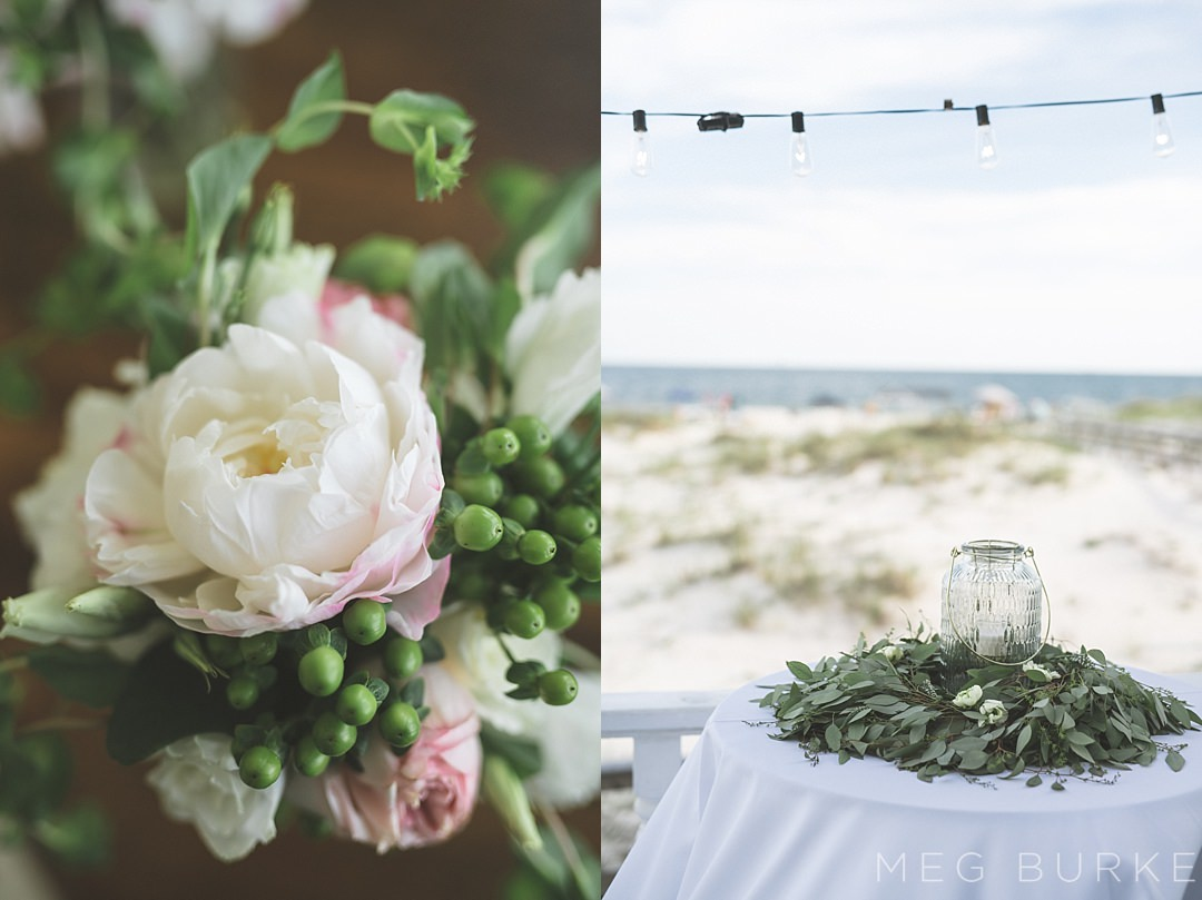 southern wedding details by Chrissy Helvenston floral design