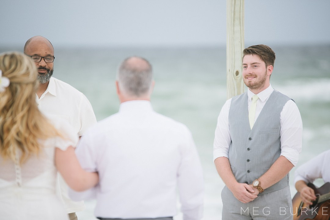 southern beach ceremony in pensacola