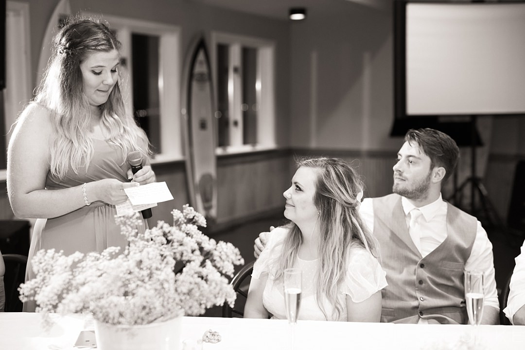 wedding toast by the maid of honor