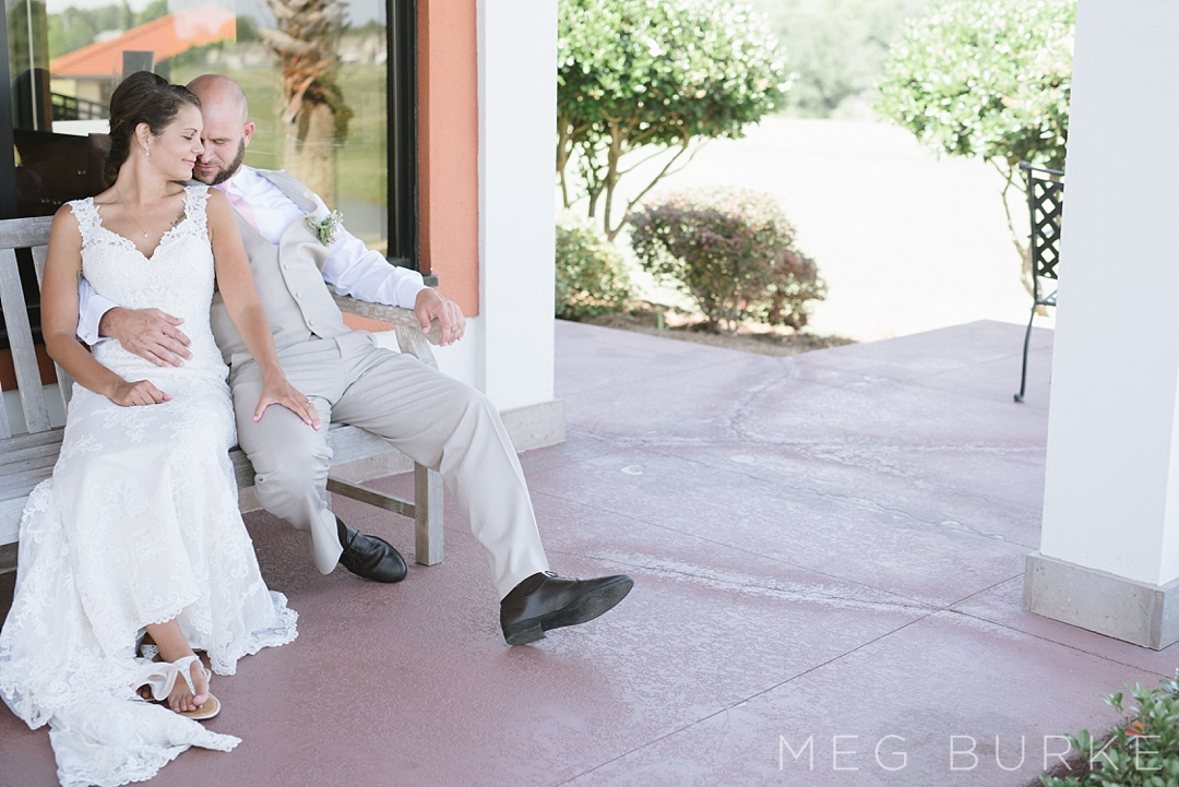 bride and groom gulf breeze wedding