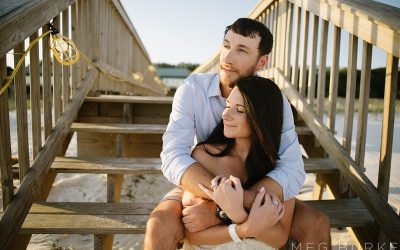 Pensacola Naval Air Station Engagement Session // Juliette & Michael