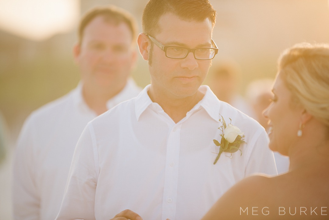 pensacola beach sun kissed vows