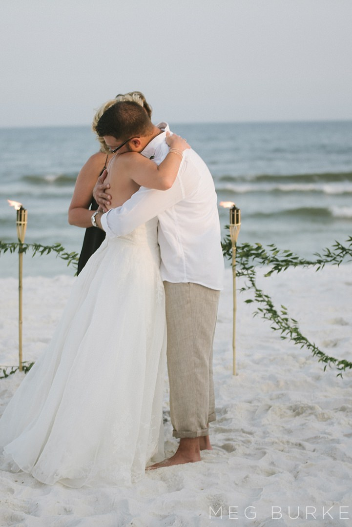 pensacola beach wedding ceremony