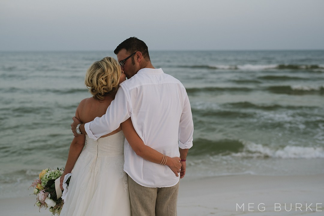 bride and groom pensacola beach wedding photography