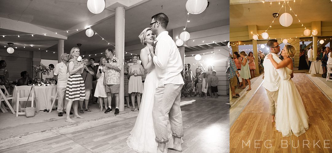 first dance at pensacola beach wedding