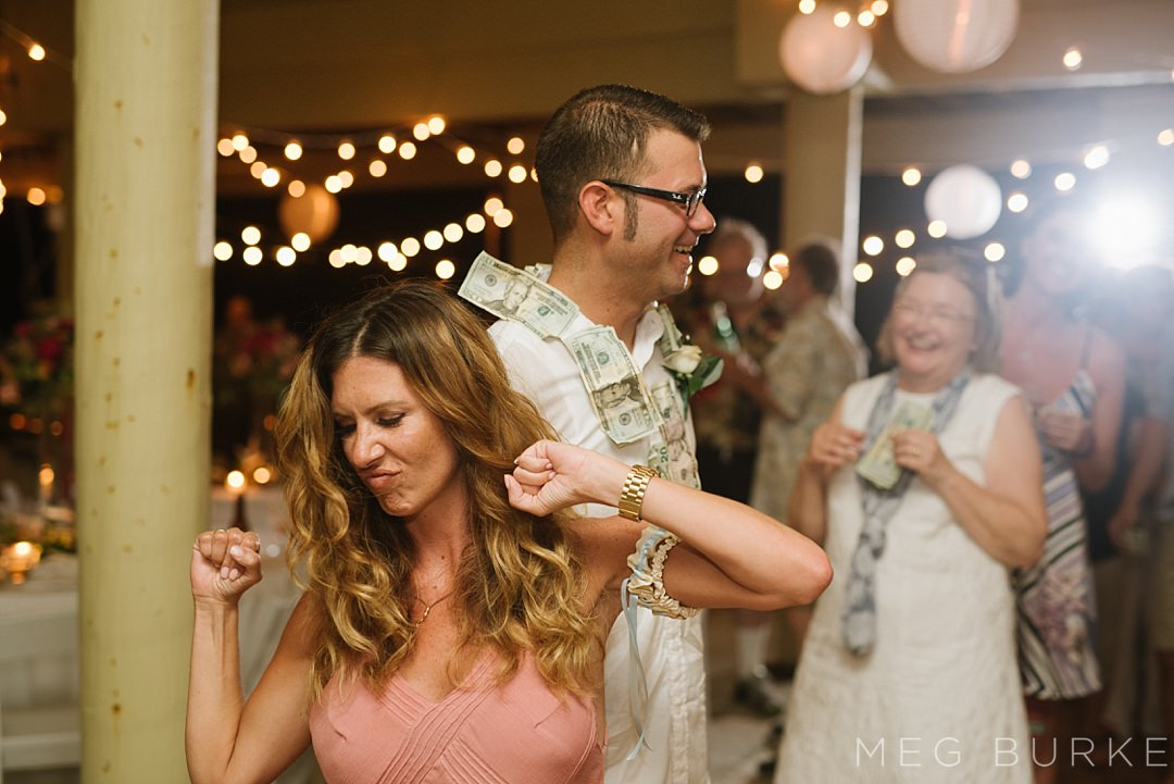 money dance with the groom