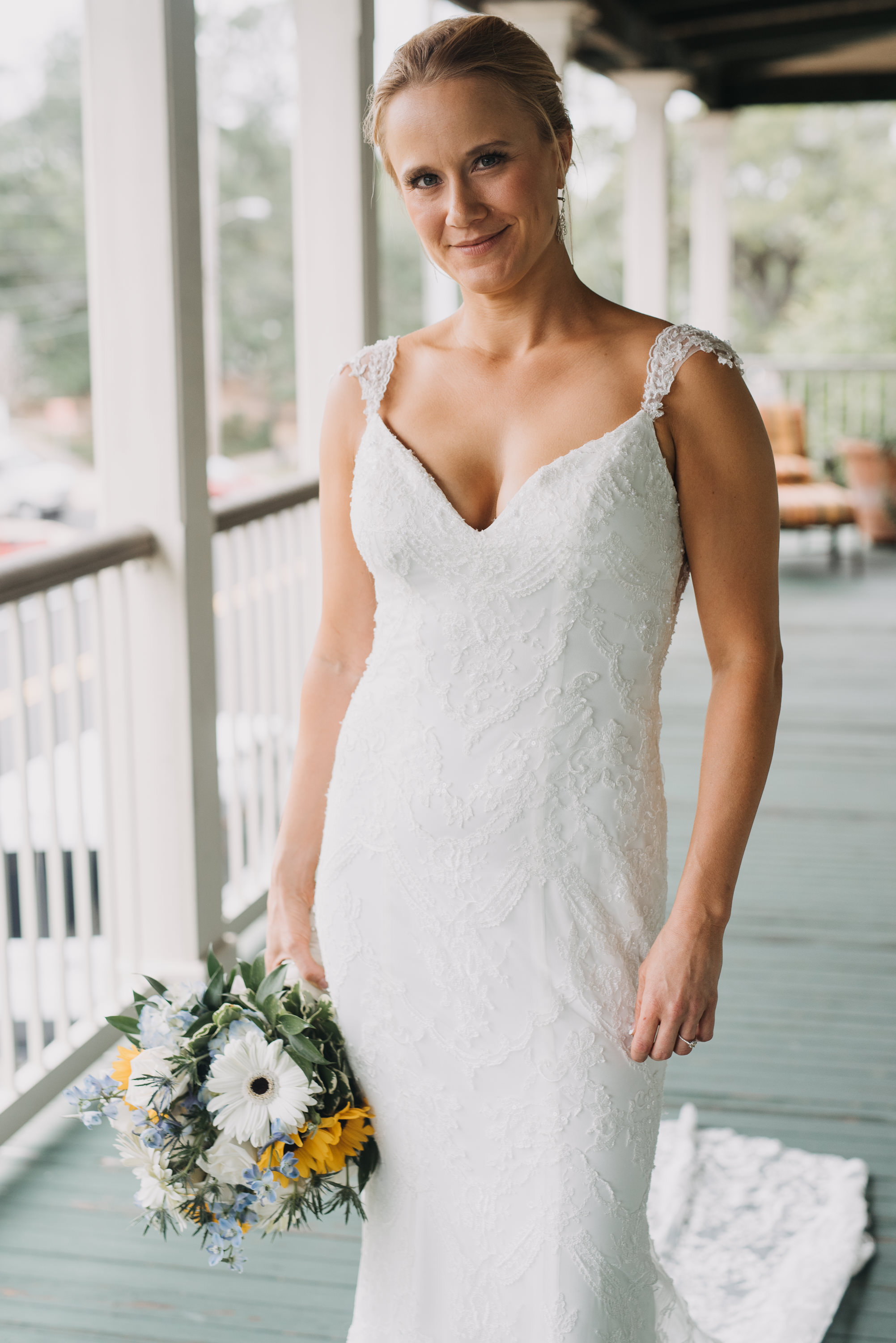bridal portrait lee house pensacola
