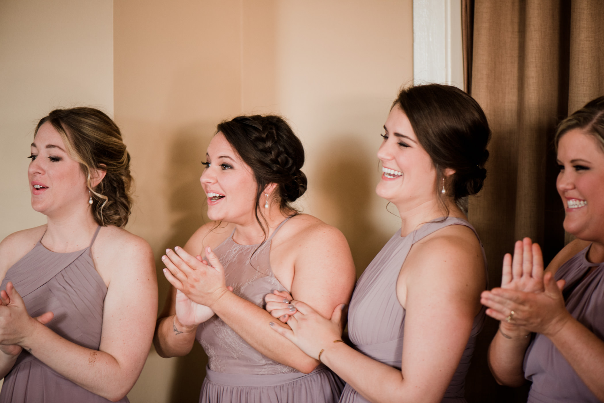 Bride Getting Ready Fish House Pensacola - Meg Burke Photography