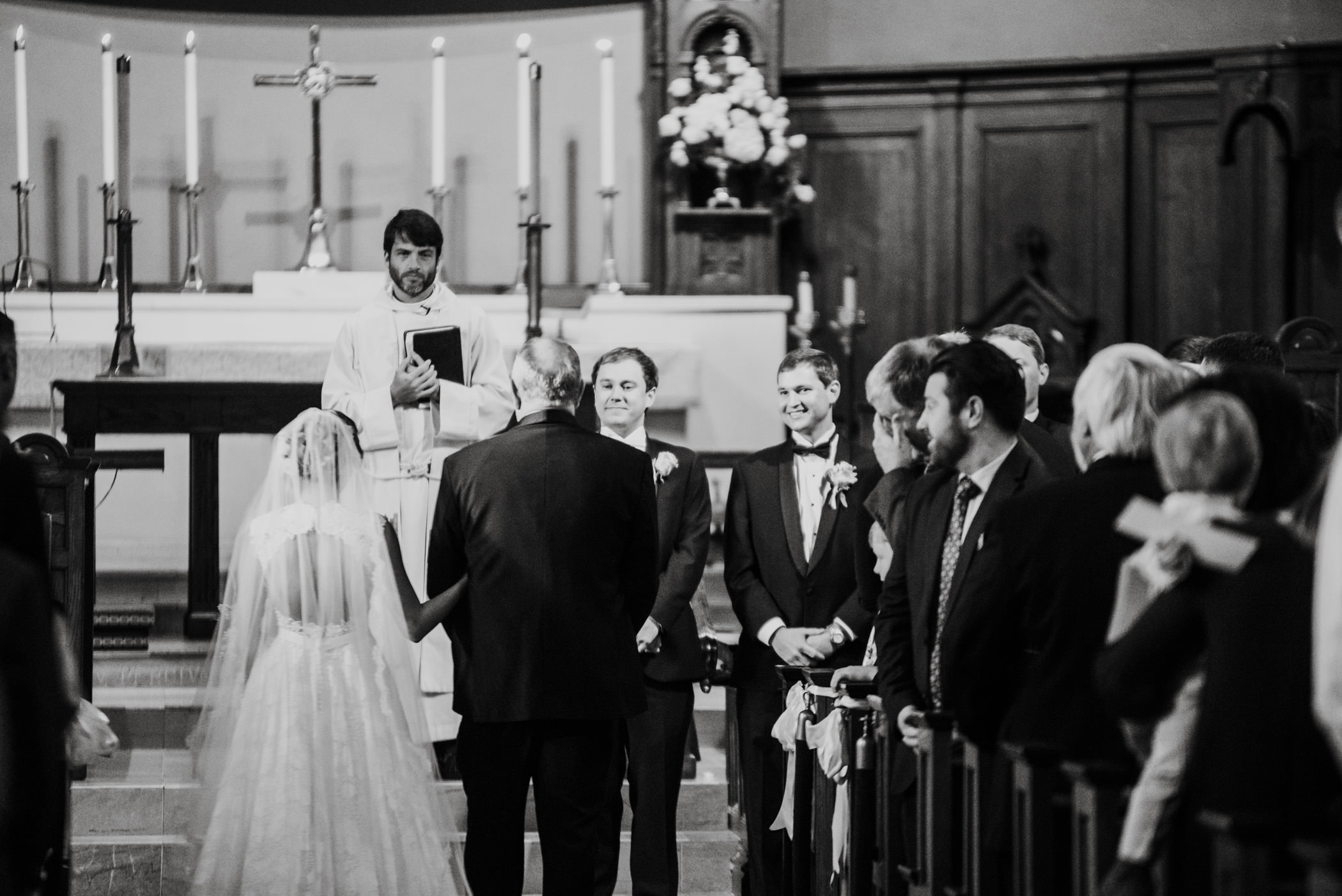 Christ Church Pensacola Wedding Ceremony