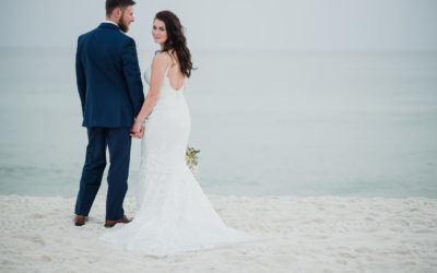 Rustic Romantic Carillon Beach Meeting House Wedding | Tanner + Chris
