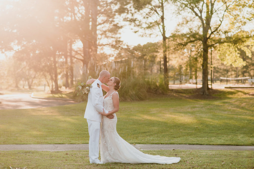 Craft Farms Wedding with Bride and Groom